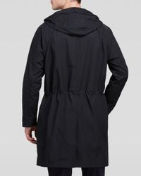 Theory - Black Fuel Canvas Coppins Coat for Men - Lyst