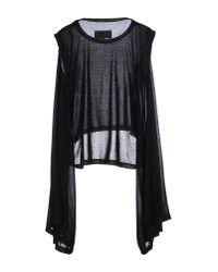 MM6 by Maison Martin Margiela | Black T-shirt | Lyst