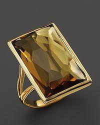 Ippolita | Metallic 18K Gold Gelato Medium Baguette Ring In Cognac Citrine | Lyst