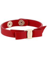 Ferragamo | Red 2500 Br Sign Pell | Lyst