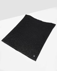Ted Baker | Black Crystal Stud Knitted Snood for Men | Lyst