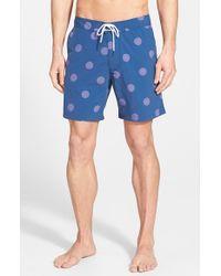 Bonobos | Blue Print Board Shorts for Men | Lyst