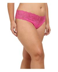 Cosabella | Purple Extended Size Never Say Never Lovely Thong | Lyst