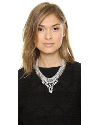 Venessa Arizaga - Green Space Queen Necklace  Cerulean - Lyst