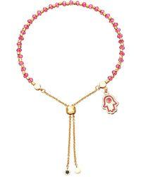 Astley Clarke | Hamsa 18ct Yellow-gold Vermeil Kula Bracelet | Lyst