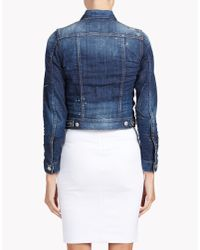 DSquared² | Blue Jean Jacket | Lyst