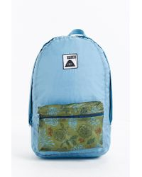 Poler | Blue Stuffable Backpack | Lyst