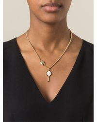 Marc By Marc Jacobs - White 'Party Key' Necklace - Lyst