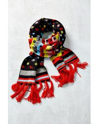 Urban Outfitters | Multicolor Kitschy Intarsia Oblong Scarf | Lyst