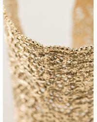 Aurelie Bidermann - Metallic 'Vintage Lace' Cuff - Lyst