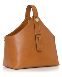 Tory Burch | Brown Garden Tote | Lyst