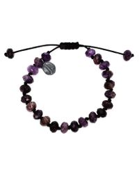 Joseph Brooks | Purple Beaded Bracelet for Men | Lyst