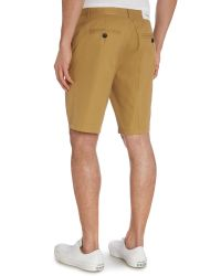Farah | Metallic Berkley Regular Fit Cotton Chino Shorts for Men | Lyst