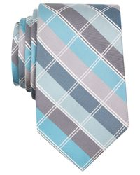 Perry Ellis | Blue Fuller Plaid Tie for Men | Lyst