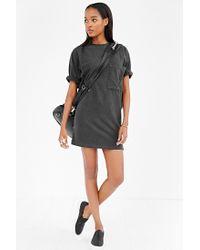 BDG - Black Most Comfy Tee Dress - Lyst