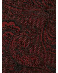Dolce & Gabbana - Red Floral Jacquard Tie for Men - Lyst