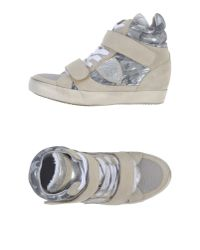 Philippe Model | Natural High-tops & Trainers | Lyst