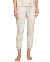 Eberjey - Natural Floral Garland Lounge Pants - Lyst