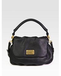 4847a294e3 Marc By Marc Jacobs Classic Q Little Ukita Satchel in Black - Lyst