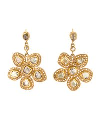 Coomi | Yellow Luminosity Diamond Earrings | Lyst