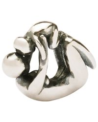 Trollbeads | Metallic Sterling Silver Maternity Charm | Lyst