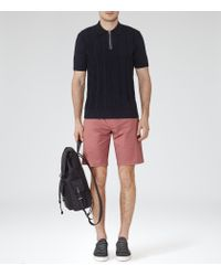Reiss | Pink Wicker Tailored Chino Shorts for Men | Lyst