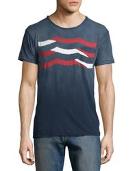 Sol Angeles - Multicolor Wave Graphic Knit Tee for Men - Lyst