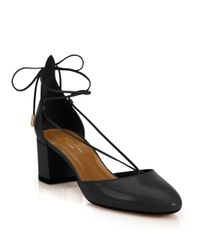 Aquazzura - Black Alexa 50 Pump - Lyst