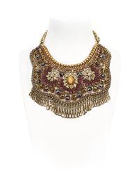 Sveva Collection | Purple Starlet Necklace | Lyst