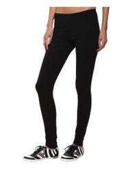 Y-3 | Black Reversible Leggings | Lyst