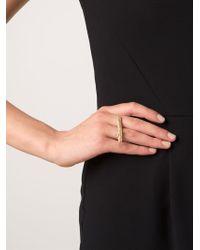 Kelly Wearstler | Metallic 'faxon' Ring | Lyst