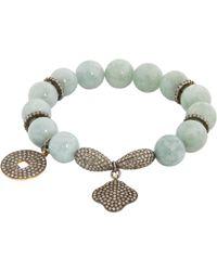 Carole Shashona | Blue Lotus 5 Essence Bracelet | Lyst