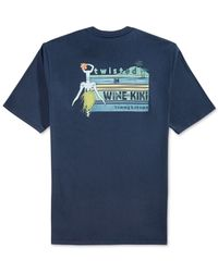 Tommy Bahama   Blue Twisted In Wine-kiki T-shirt for Men   Lyst