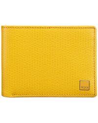 Tumi - Yellow Monaco Double Billfold Wallet for Men - Lyst