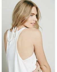 Free People - White Fp One Womens Fp One Two Tank - Lyst