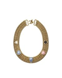 Lizzie Fortunato | Metallic Nineties & Beyond Necklace | Lyst