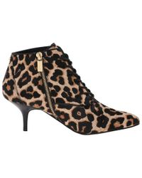 MICHAEL Michael Kors | Natural Ankle Boots | Lyst