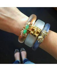 Alexis Bittar | Multicolor Floral Cluster Bracelet | Lyst