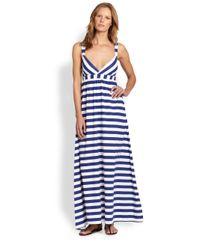 OndadeMar | Blue Utopia Maxi Dress | Lyst