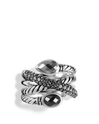 David Yurman | Metallic Black Onyx And Black Diamonds | Lyst