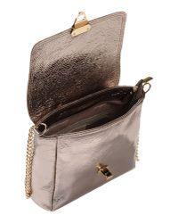 Studio Moda - Metallic Shoulder Bag - Lyst