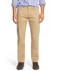 Dockers | Natural Slim Fit Five Pocket Pants for Men | Lyst