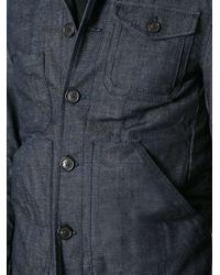 DSquared² - Blue Workwear-Style Denim Jacket for Men - Lyst