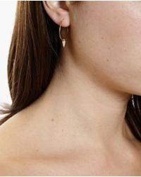 Asherali Knopfer | Metallic Interchangeable Lou Hoop Earring | Lyst
