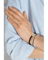 Iam By Ileana Makri | Blue Snake Silver Enamel and Diamond Bracelet | Lyst