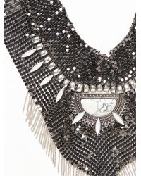 Free People - Metallic Grace Chainmail Collar - Lyst