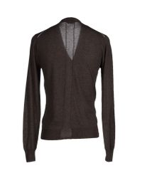 Paolo Pecora - Brown Cardigan for Men - Lyst