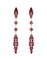 Fernando Jorge | Metallic Ruby, Rhodolite & Rose-Gold Earrings | Lyst