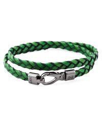 Tod's | Green 'My Colours' Bracelet | Lyst