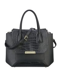 Nine West - Black Balancing Act Satchel - Lyst